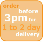 order before 3pm for 1 -2 day delivery