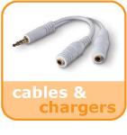 cables and chargers